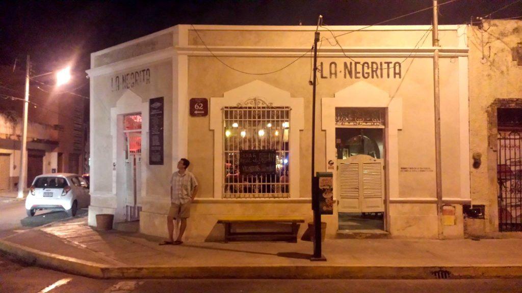 La Negrita cantina Merida Mexico