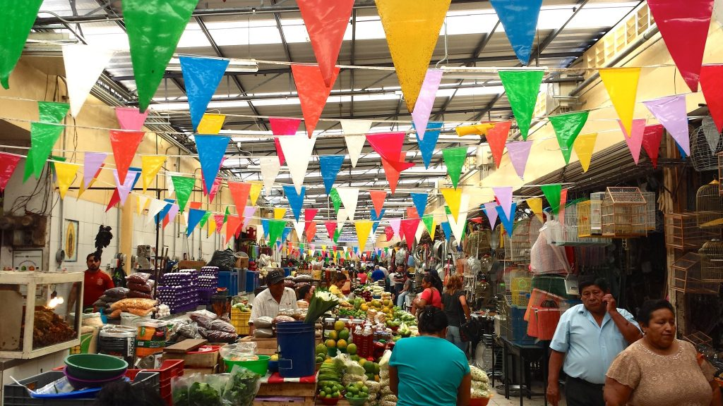 Shopping at the Lucas de Galvez Market Merida is one of the fun things to do in Merida