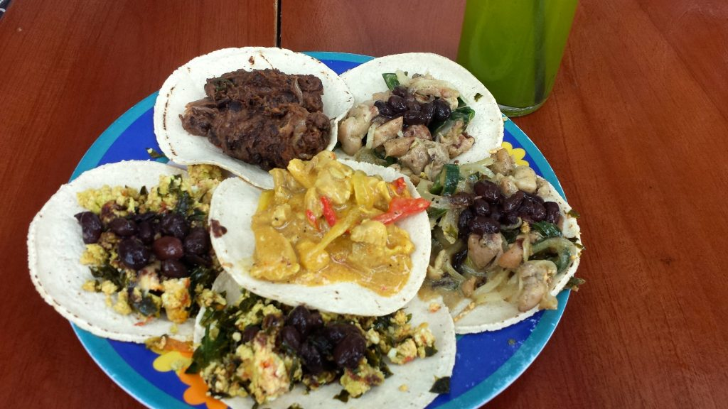 These delicious tacos at Wayan'e make it one of the best restaurants on Merida