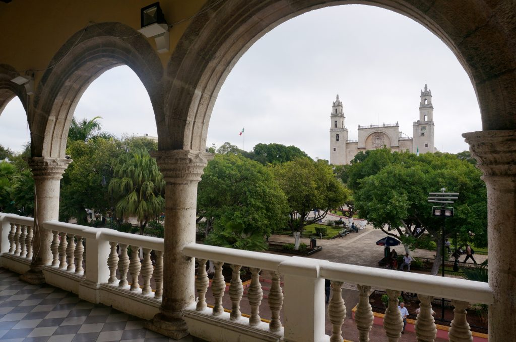 Balcony of Government Building in Merida