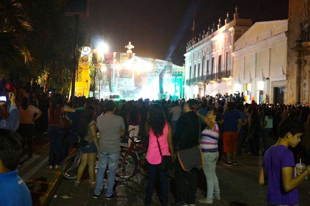 Merida Concert at Night