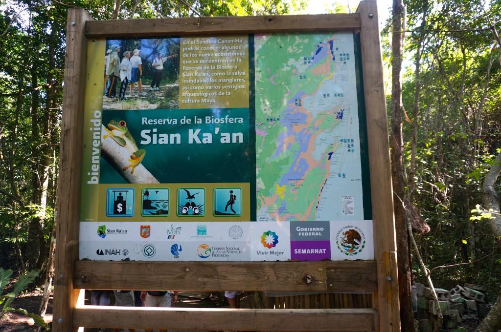 Sian Ka'an Sign