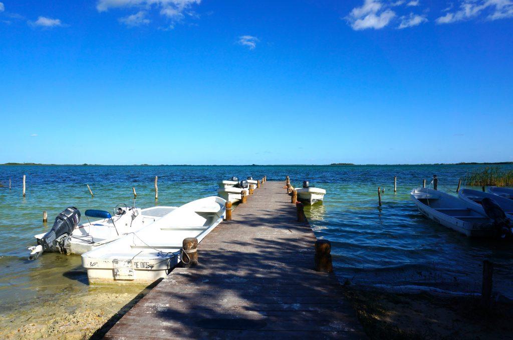Sian Ka'an Boat Docks at Muyil