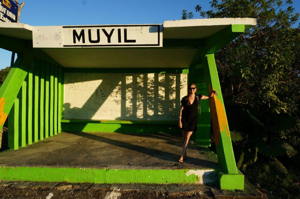 Muyil Bus station 2