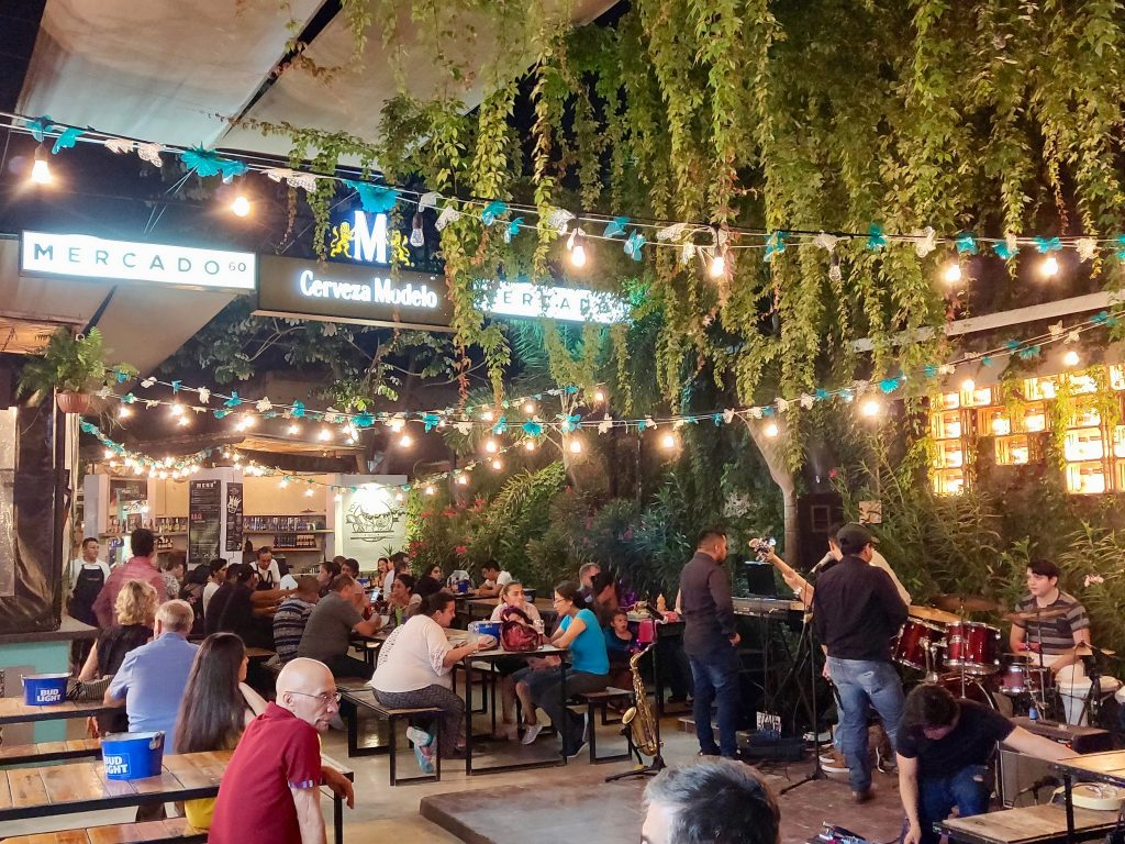 Mercado 60 is a food market in Merida Mexico