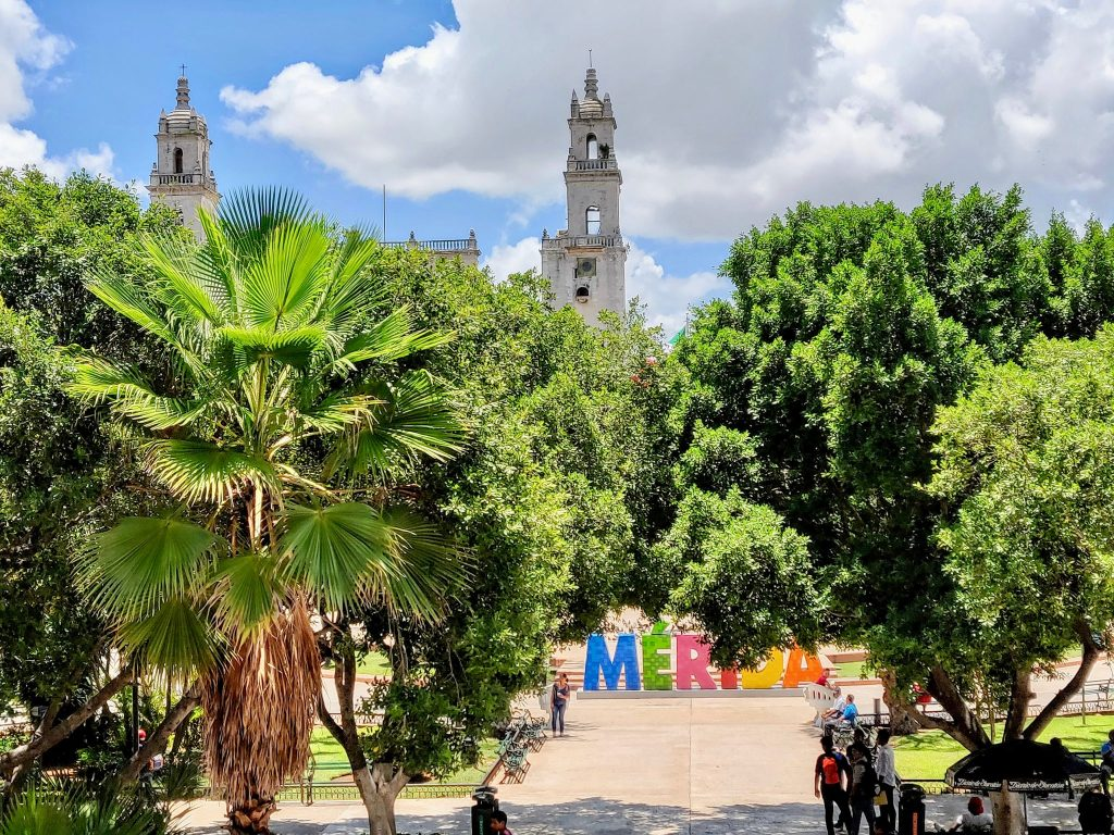 Plaza Grande Merida Mexico