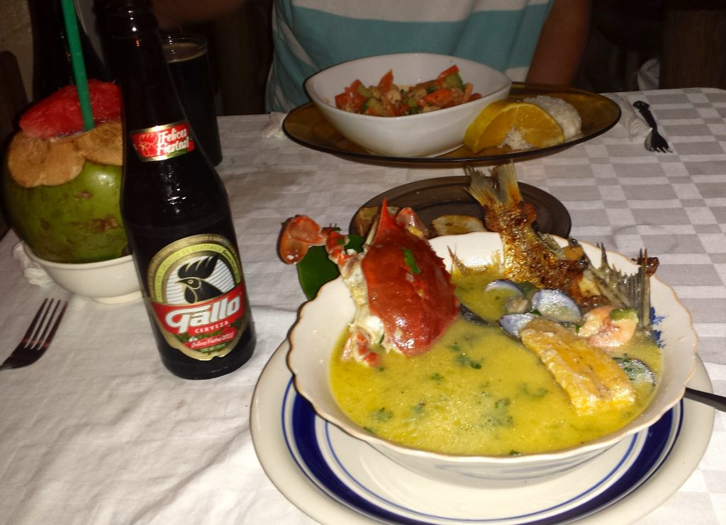 Garafuni Tapado in Livingston Guatemala