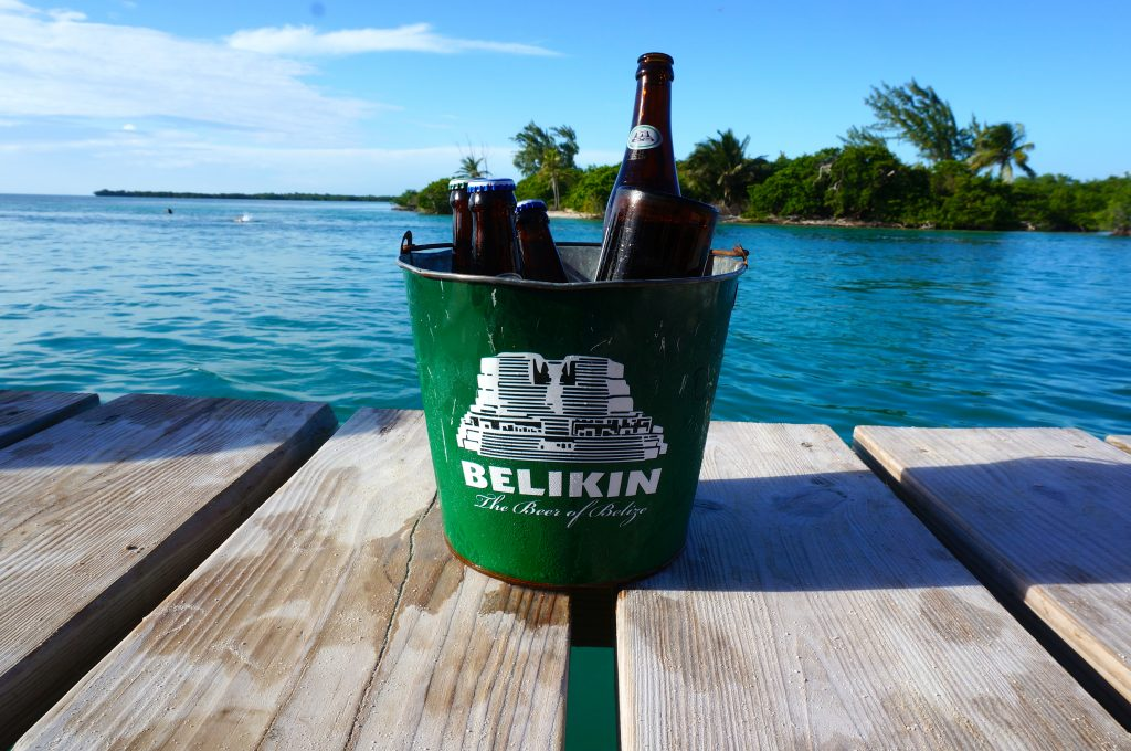 Bucket of Belikin Beers