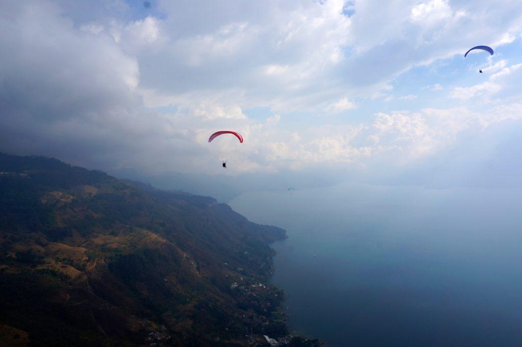 Paragliding Lago Atitlan and Panajachel