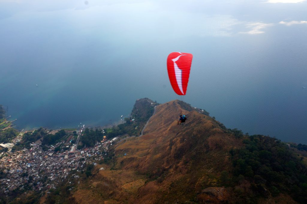 Paragliding Lake Atitlan and Panajachel