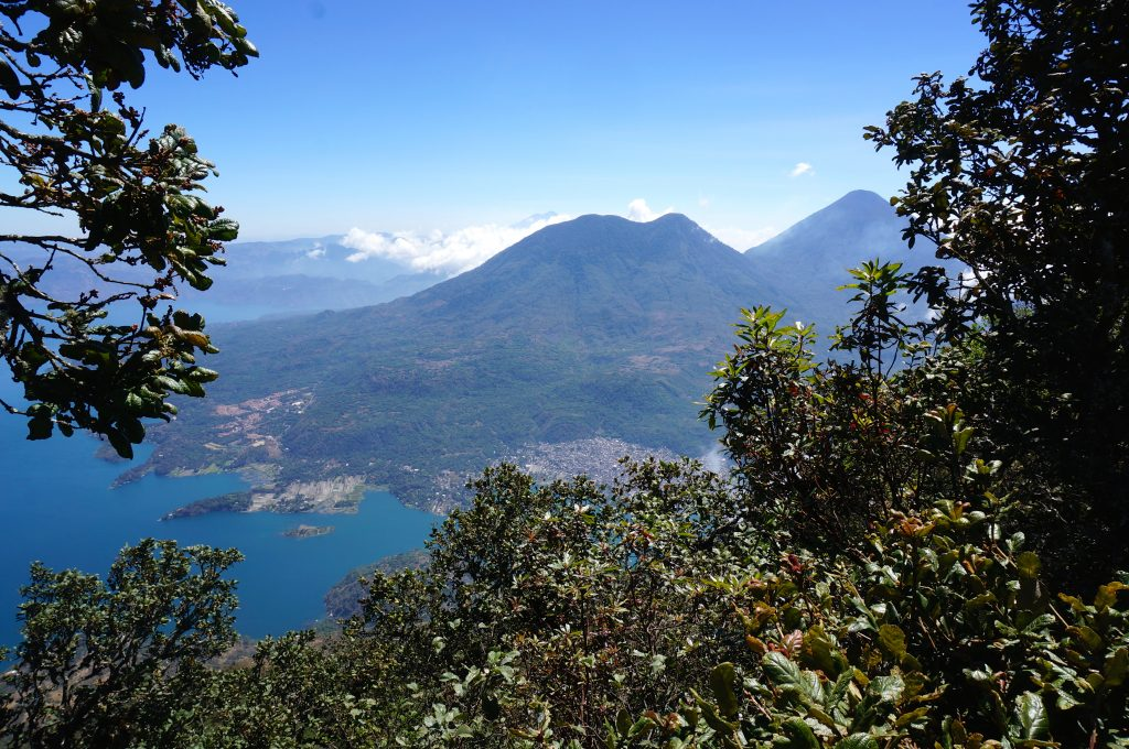 View from atop Volcan San Pedro