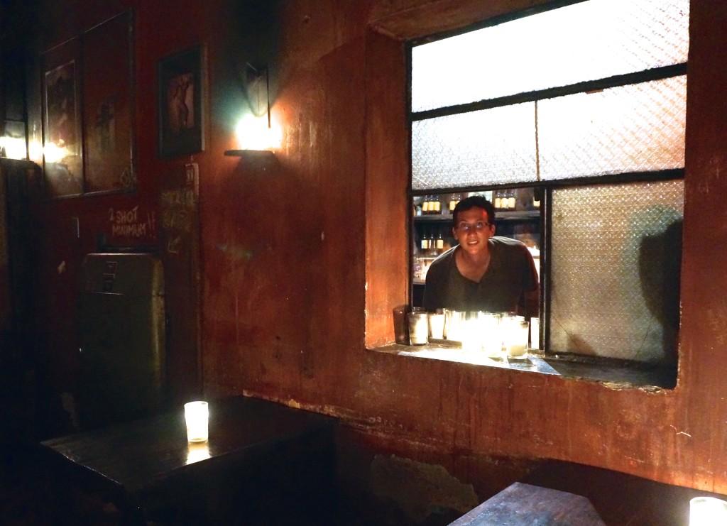 Secret Mescal Bar at Cafe No Se