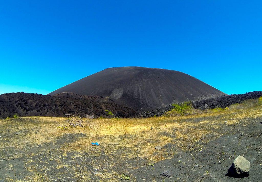 Cerro Negro Black Cinder Cone Volcano