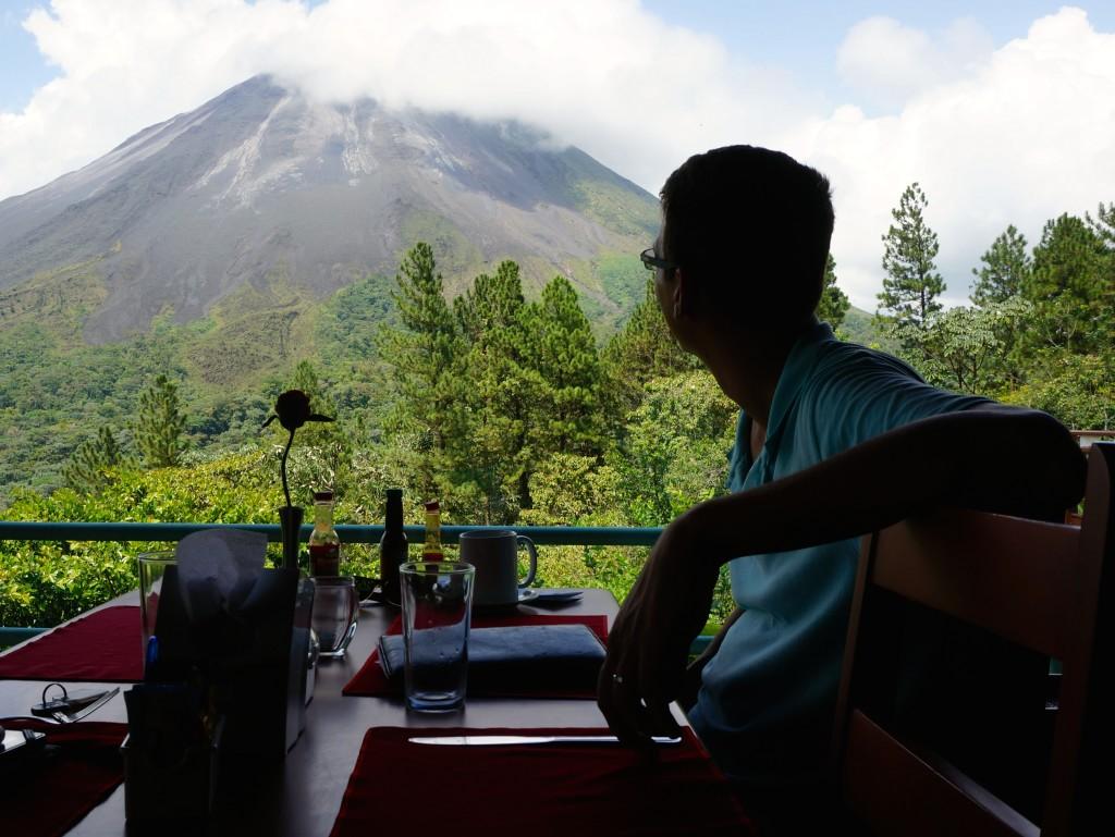 Arenal Volcano Costa Rica restaurant