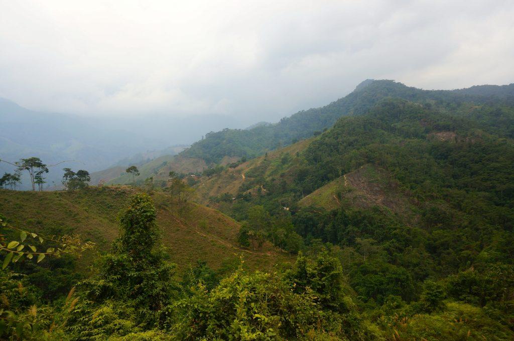 mountain trail to Ciudad Perdida