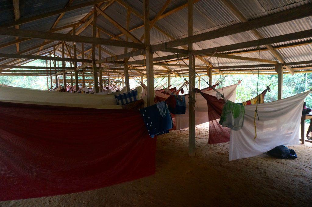 hammock during Ciudad Perdida trek