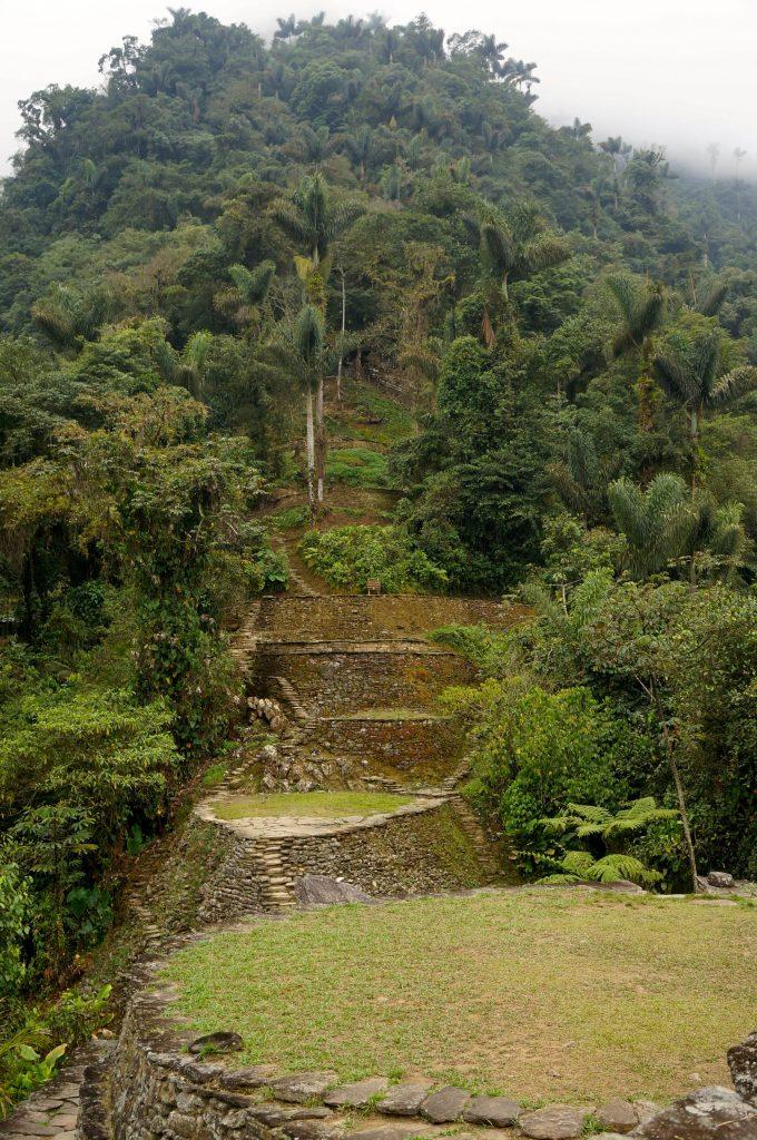 Ciudad Perdida Colombia terraces