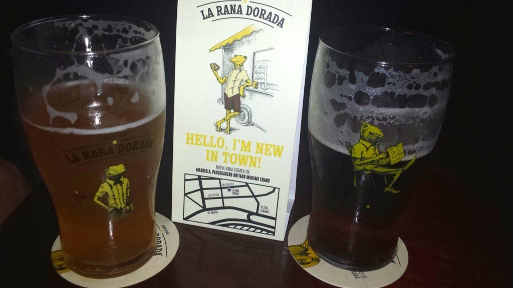 La Rana Dorada Beers in Panama