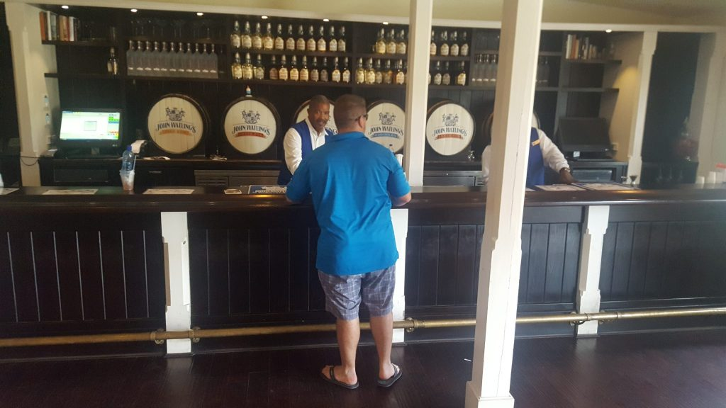 John Watling's Rum distillery is part of a cheap shore excursion in Nassau Bahamas to drink local rum