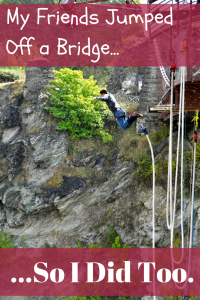 A review of AJ Hackett Kawarau Bridge Bungy Jump in Queenstown NZ, discussing my terror, its safety (no deaths), and deals!