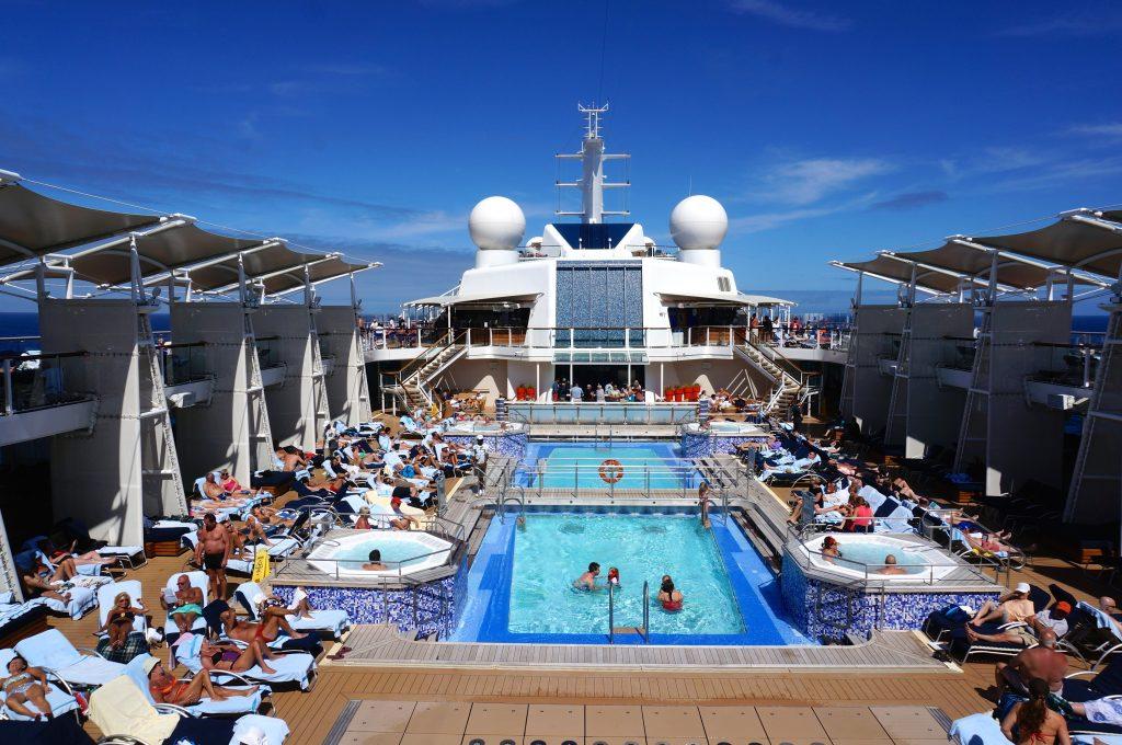 Celebrity Eclipse pool deck