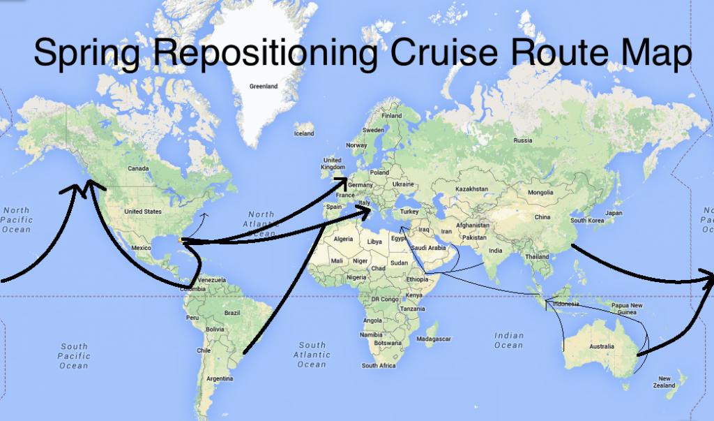 Spring Repositioning Cruises