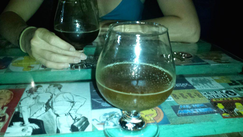 Stiefel Pub snifter beer brandy