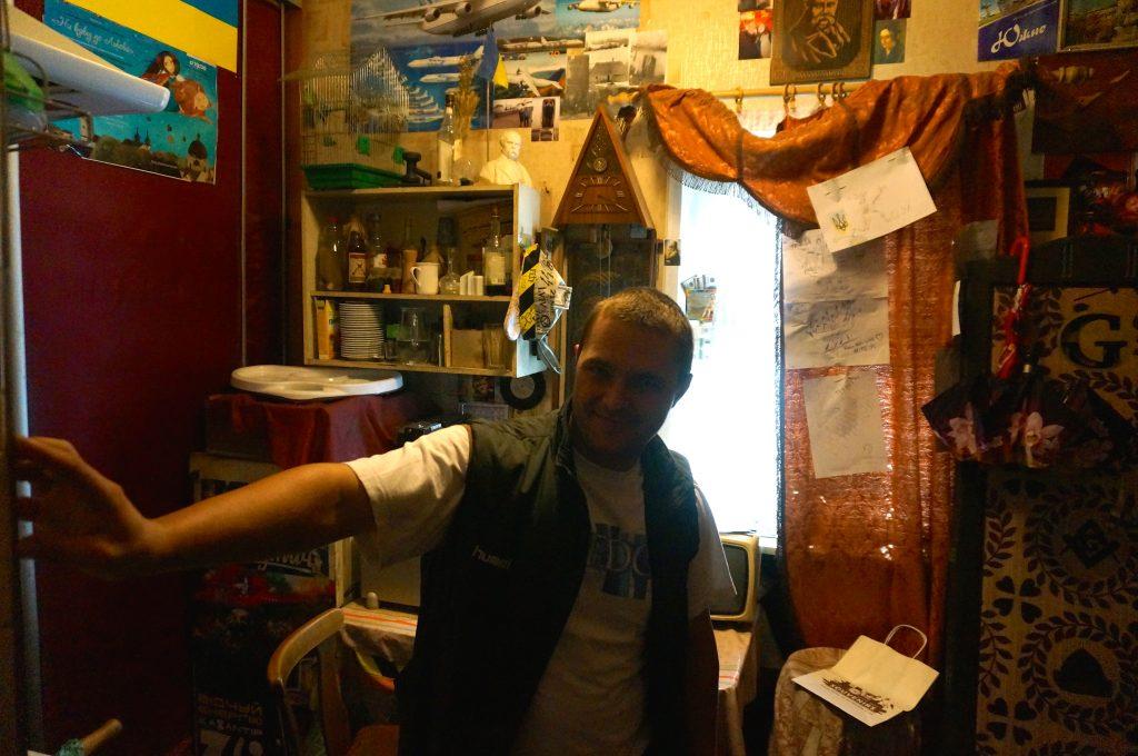 Lviv apartment masonic restaurant