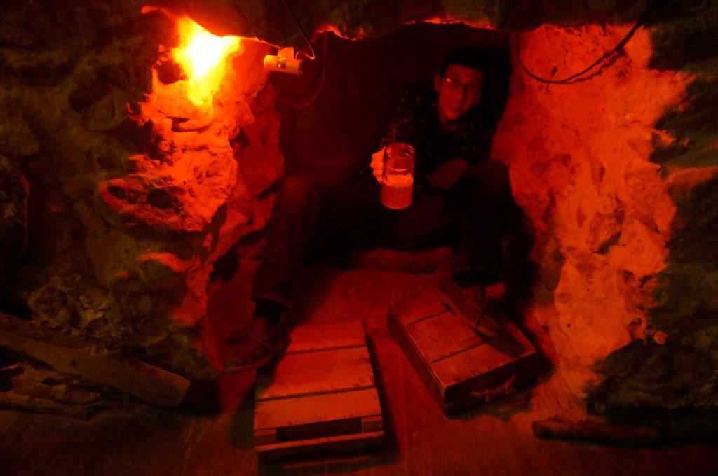 bunker in Lviv restaurant