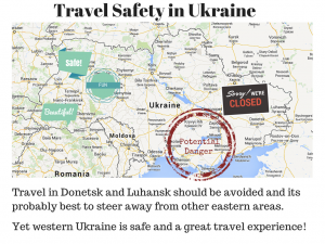 Our Ukraine Vacation: Part 2: Is Ukraine Safe for Travel?