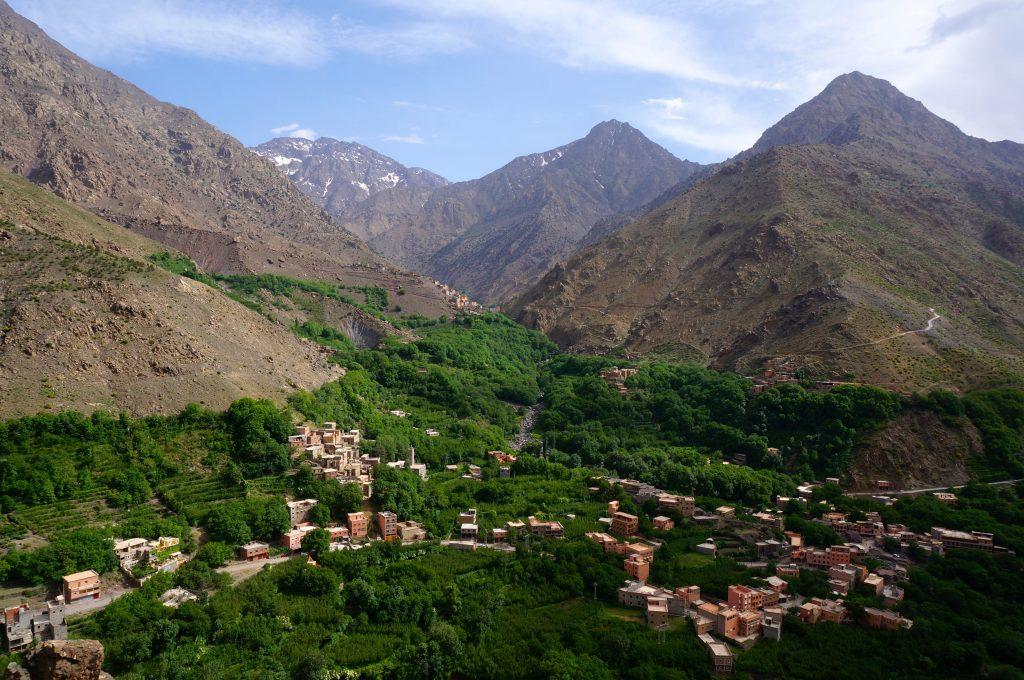 Hiking Around the Atlas Mountains of Imlil Morocco