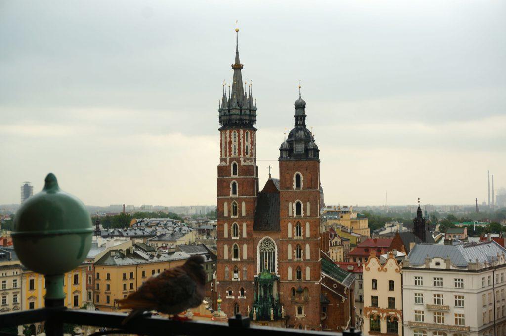 Church in Krakow, Poland
