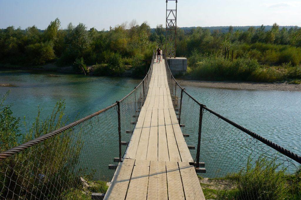 Prut river bridge