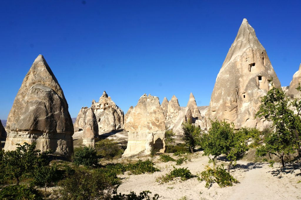 Kiliclar Valley is a beautiful place to hike and a great budget-friendly Cappadocia trip to take
