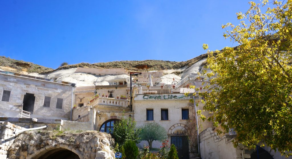 Goreme Cave Life hotel was the best value for a cave hotel on a budget in Cappadocia