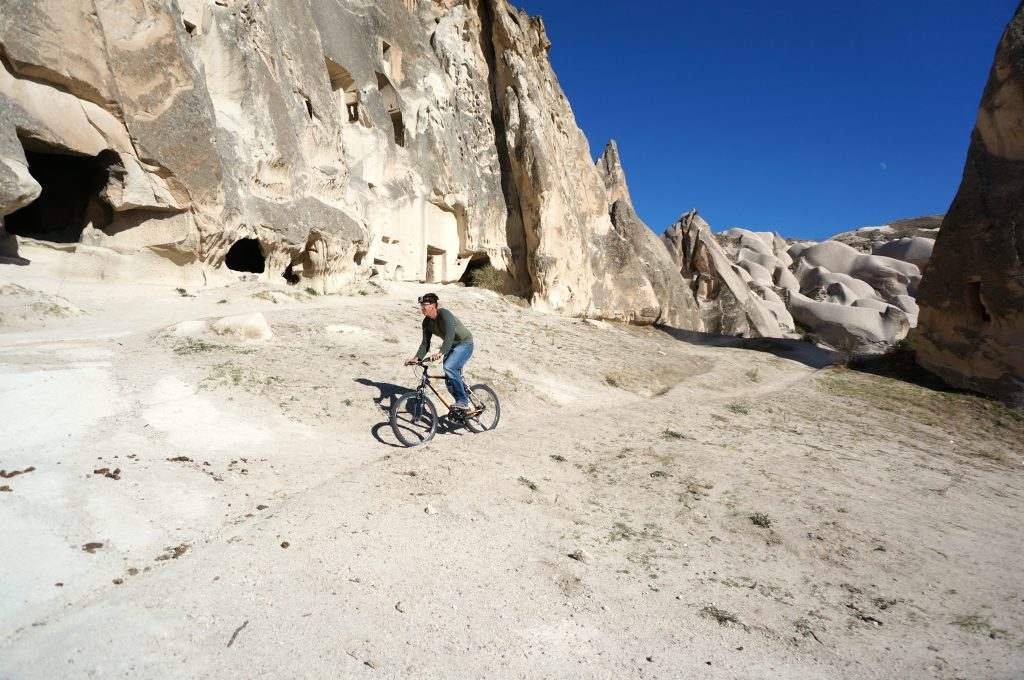 Mountain biking is a budget friendly Cappadocia thing to do
