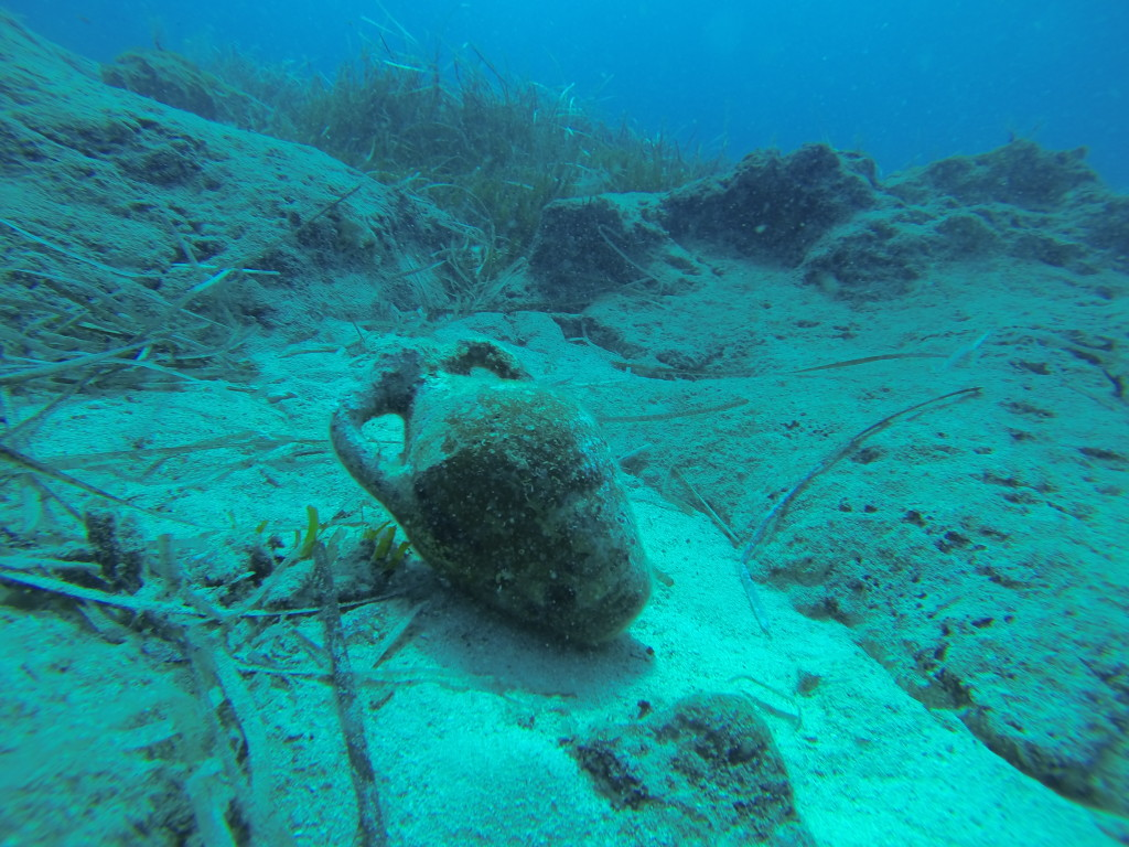 dive master estimates this completely intact to be from  about 5 AD!