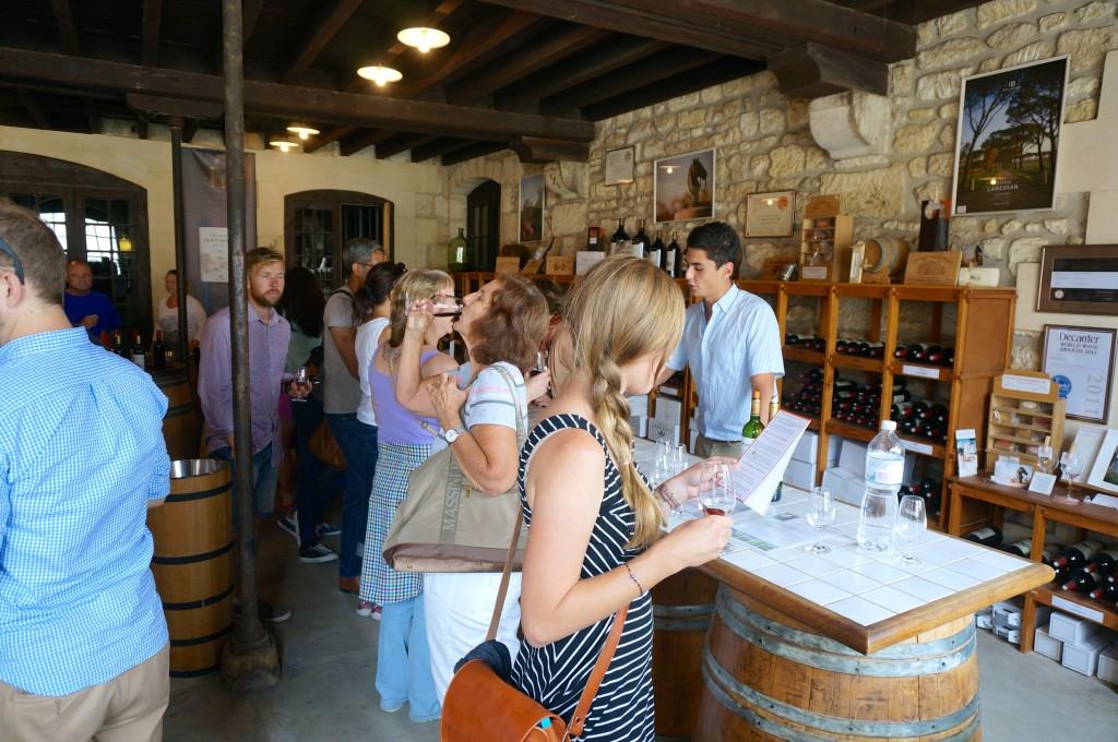 Wine tasting in Medoc