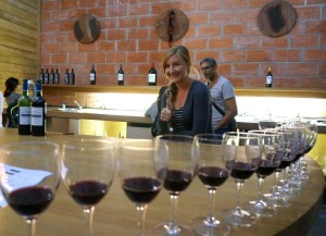 wine tasting Chateau D'Arsac wine cellar