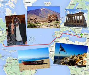 Month #11 Travel Update: Roaming Around Greece and Crossing the Atlantic