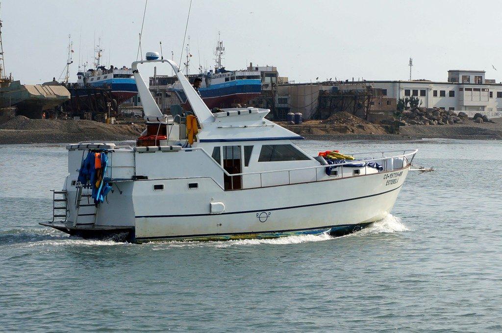 EcoCrucero boat tour to Palomino Islands