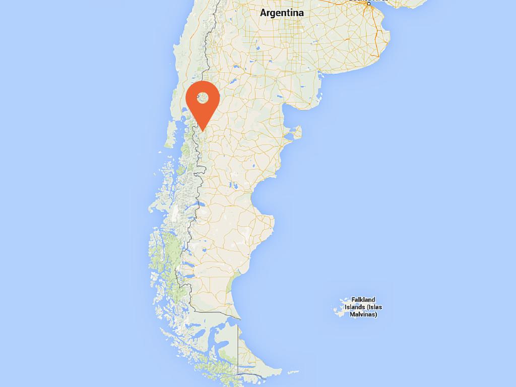 Puerto Patriada Kayak Trip On Lake Epuyen Argentina - Argentine lake map