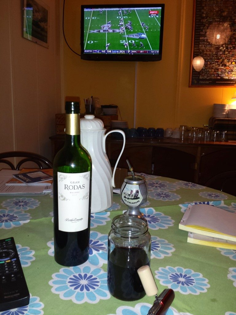 Superbowl in El Calafate