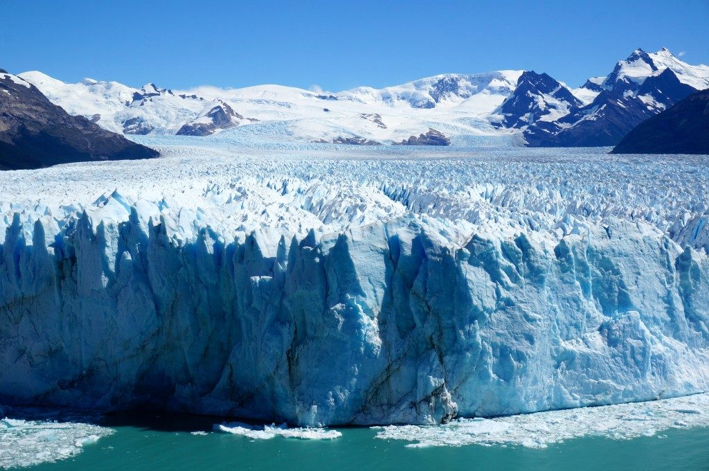the Perito Moreno Glacier