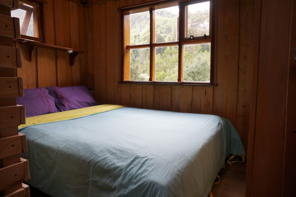 Private room at Cochamó Refugio