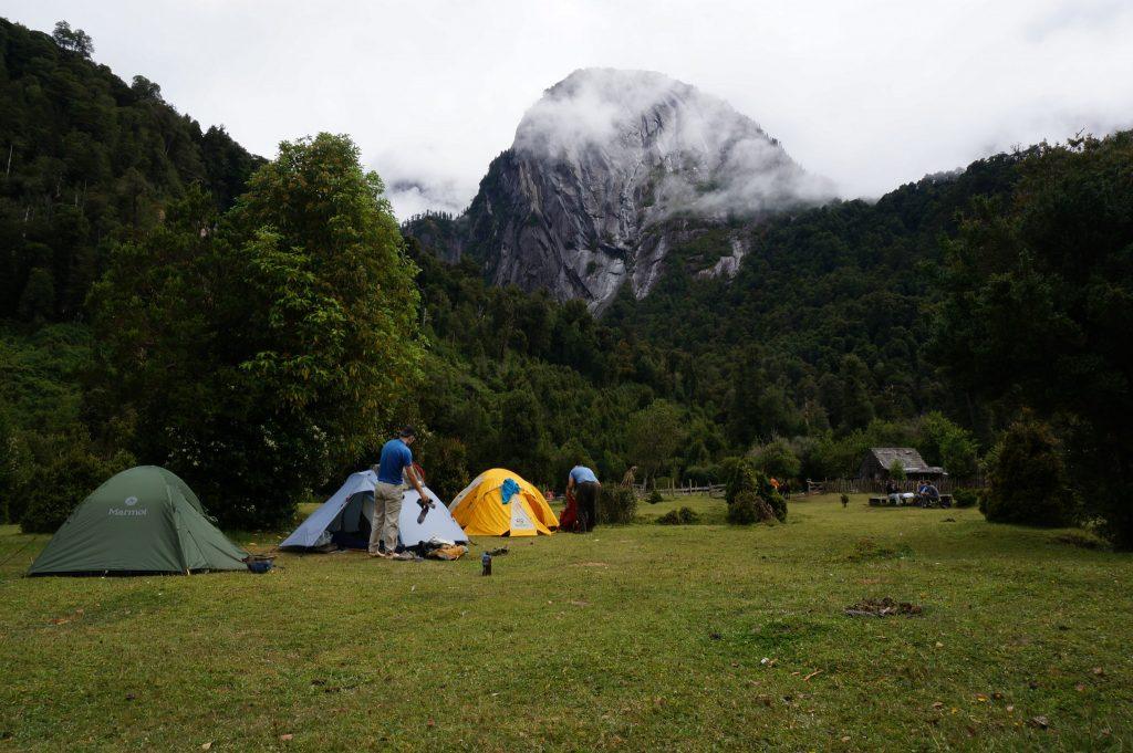 La Junta Campground in the Cochamo Valley