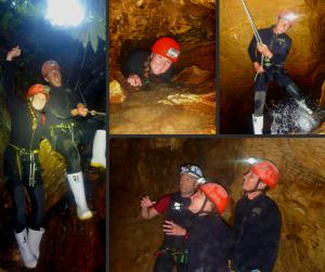 Experiencing the Haggas Honking Holes with Waitomo Adventures