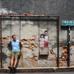 Discovering Street Art, Clan Jetties, Hashing, Eating, and Drinking in Penang Malaysia