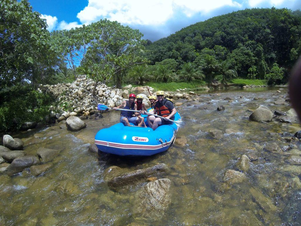 white water rafting in Phuket Thailand