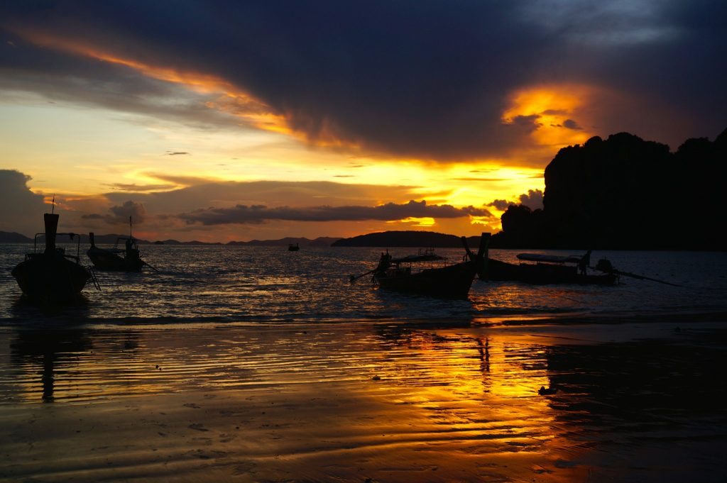 Sunset from Railay West